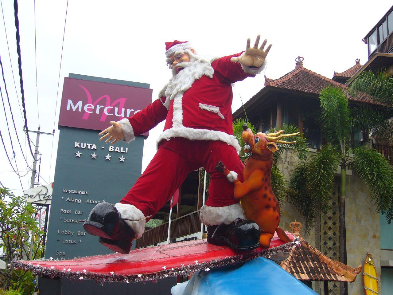 Фото Санта Клауса