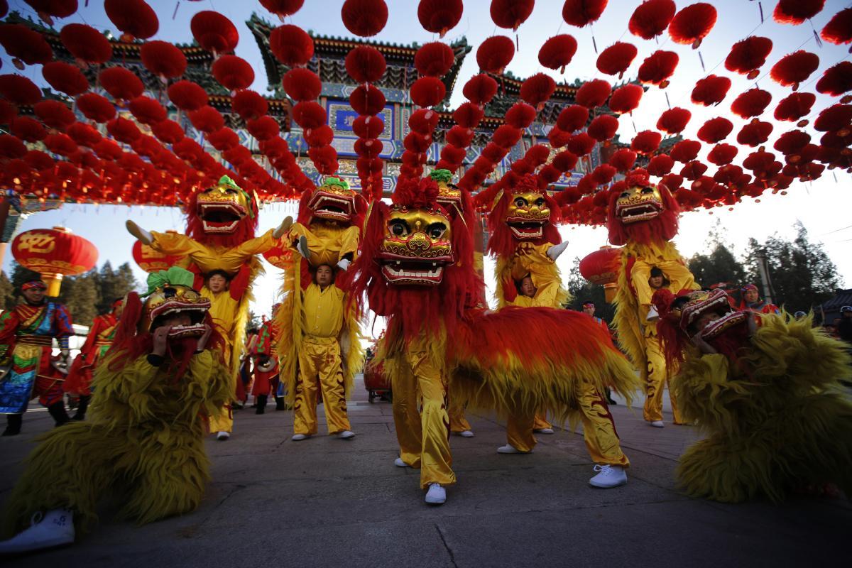 Фото Китайского Нового года