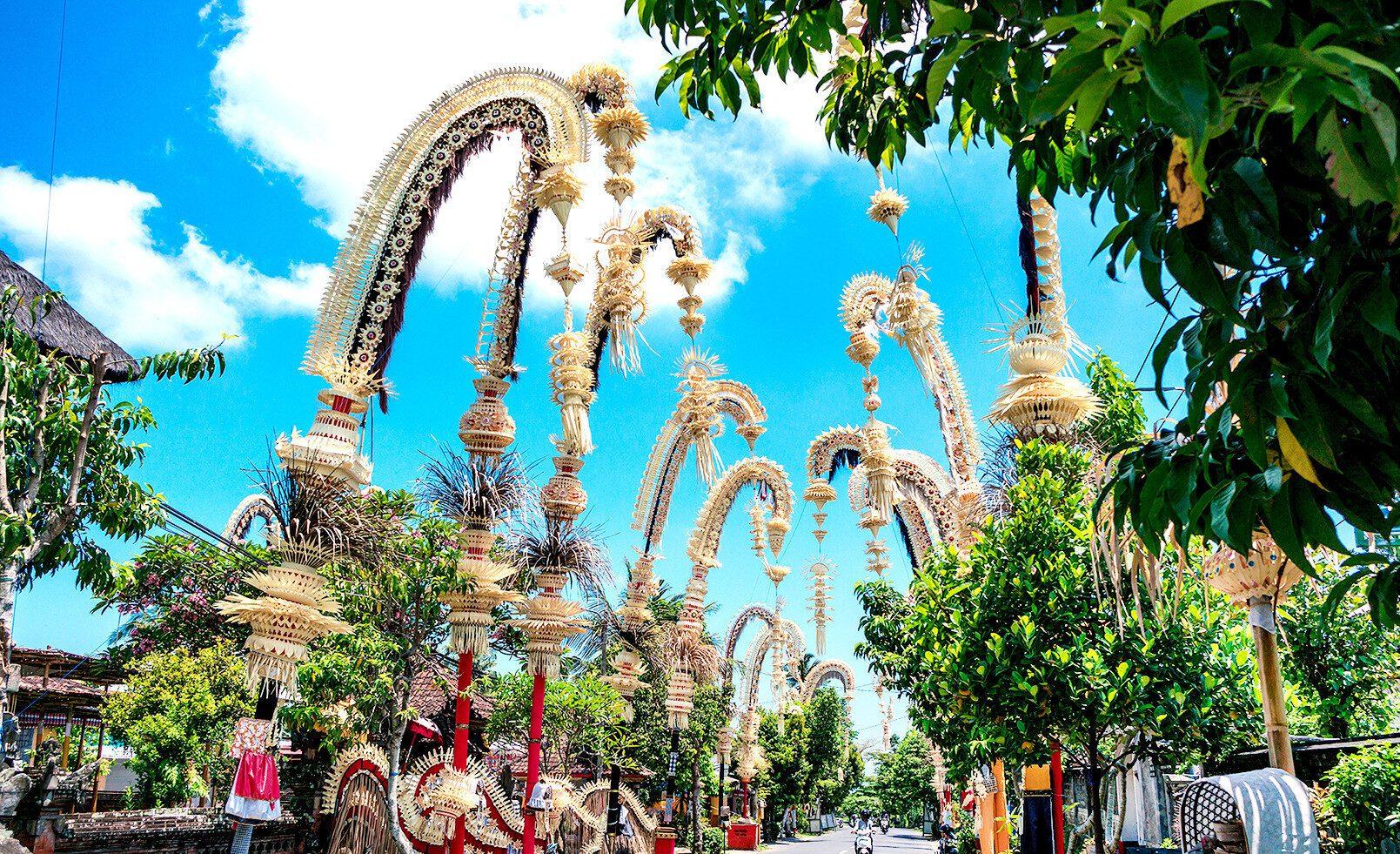 Фото Бали в праздник