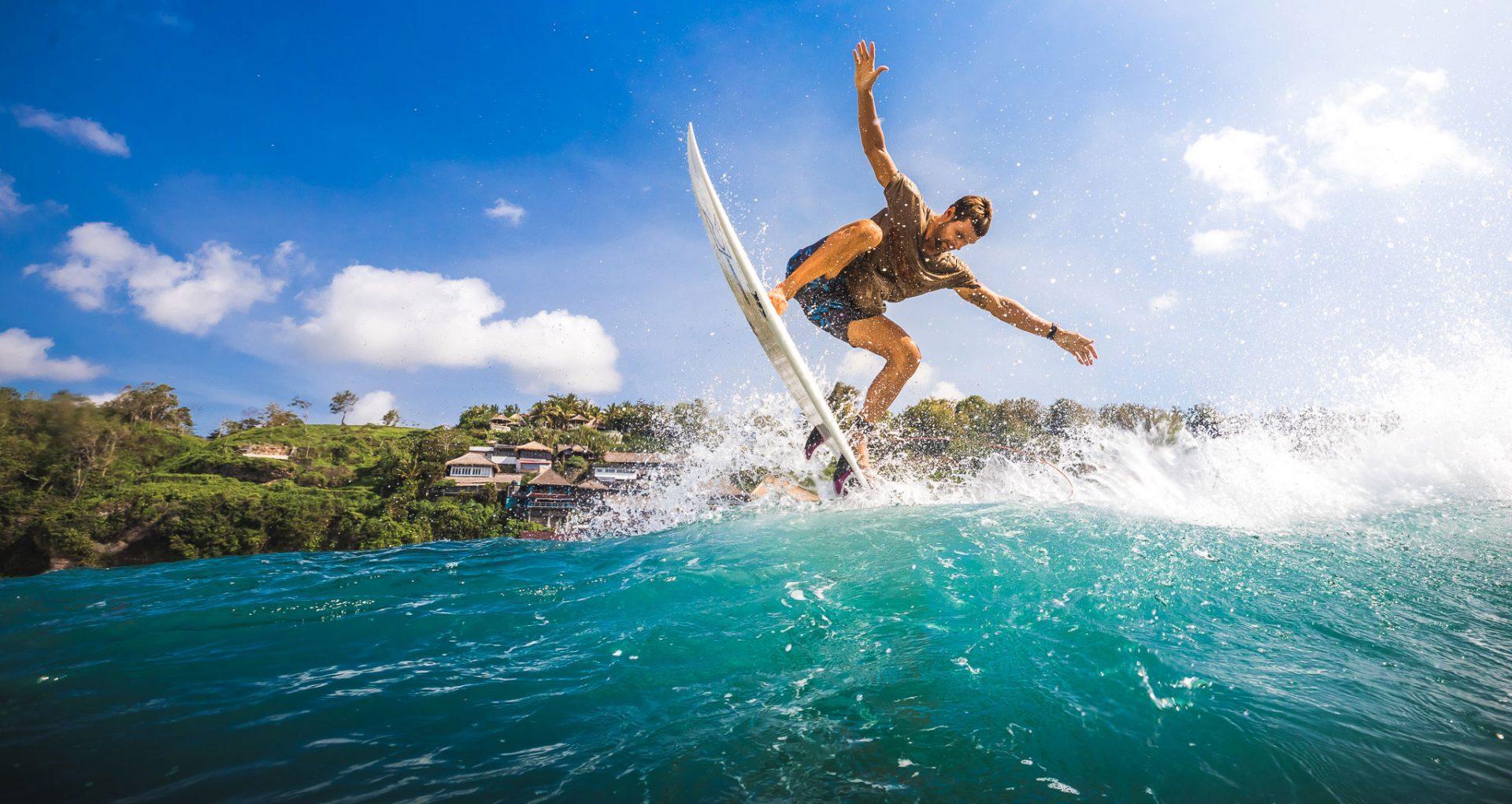 Фото волн на Бали