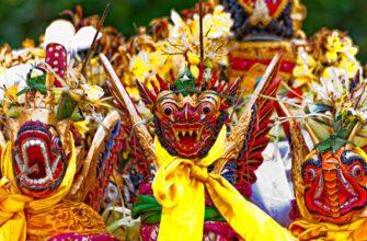 Фото карнавала на Бали
